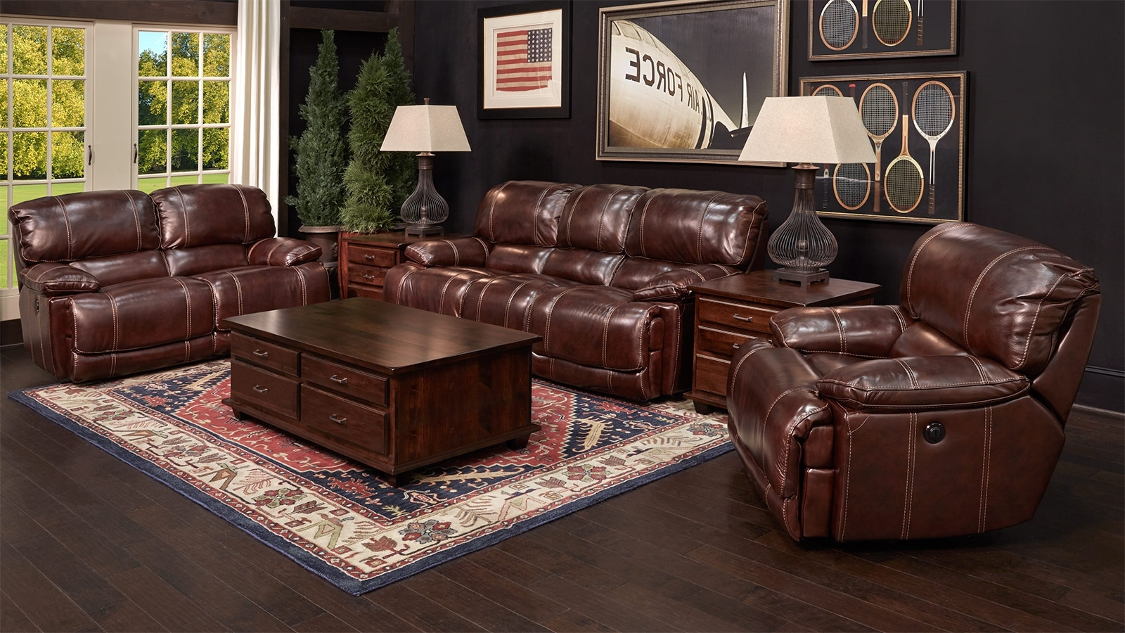 Newest Gallery Furniture Sectional Sofas Intended For Flexsteel Furniture / Gallery Furniture Store, (View 10 of 20)
