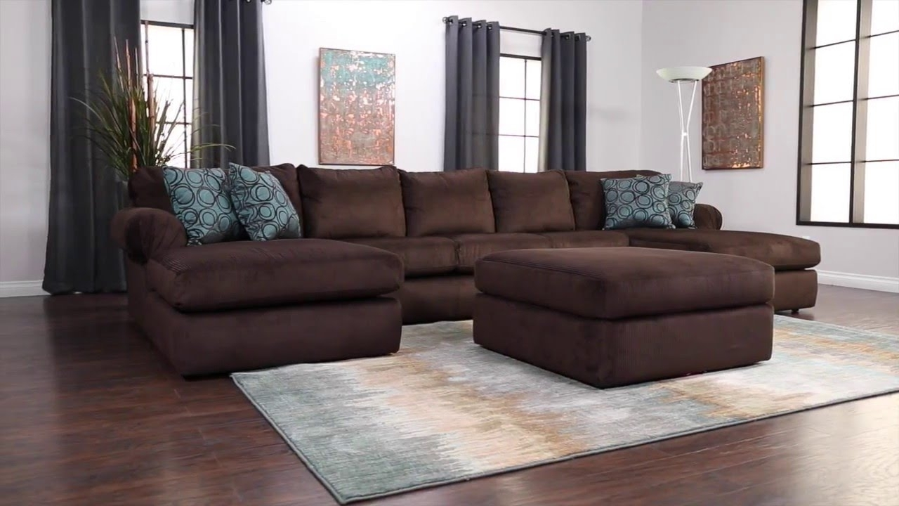 Newest Jerome's Sectional Sofas Throughout Jerome's Furniture Scottsdale Sectional – Youtube (View 2 of 20)