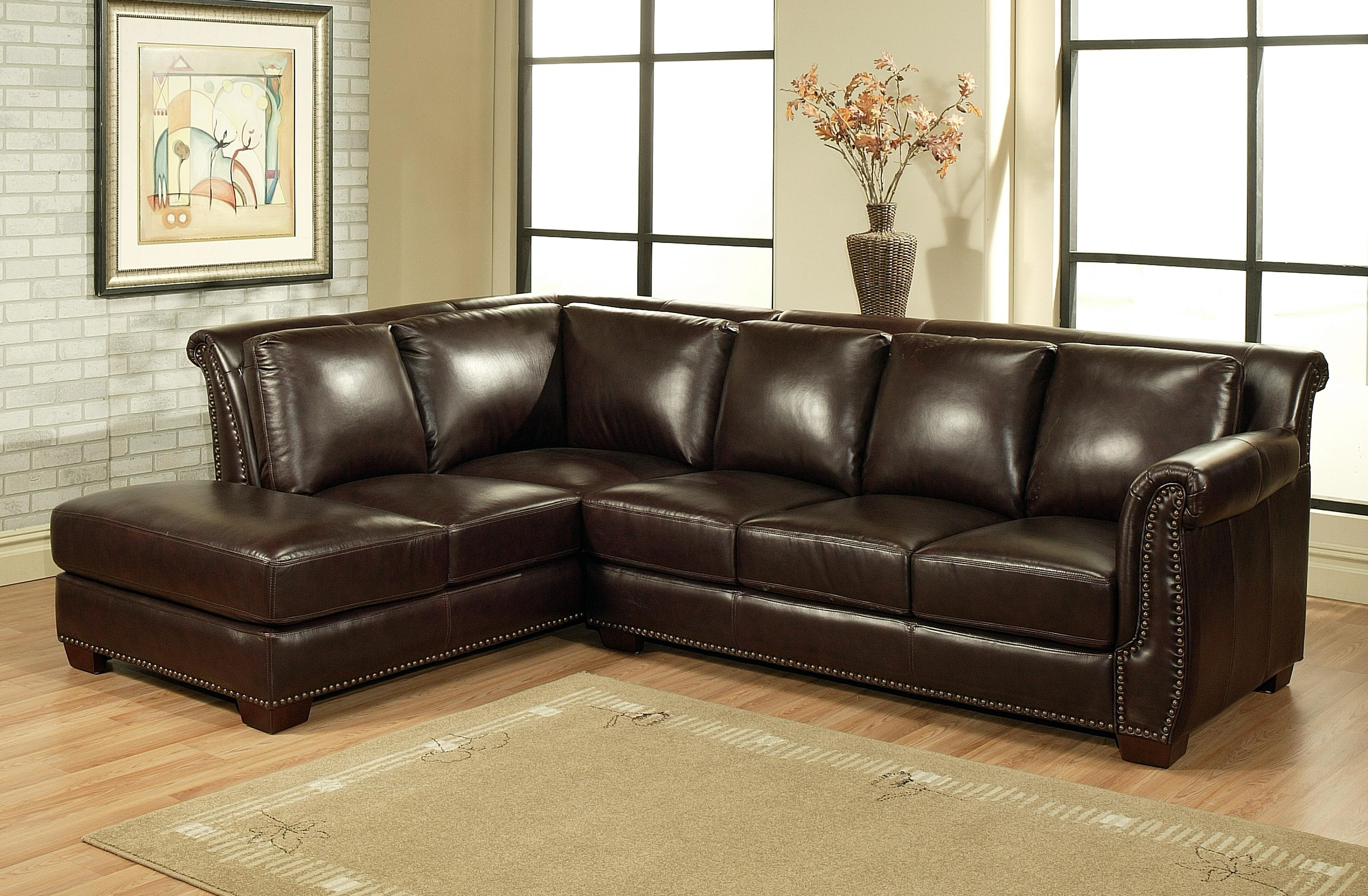 Newest Leather L Shaped Sectional Sofas In Ikea Couch Bed U Shaped Sectional Costco Leather Recliner Large (View 10 of 20)