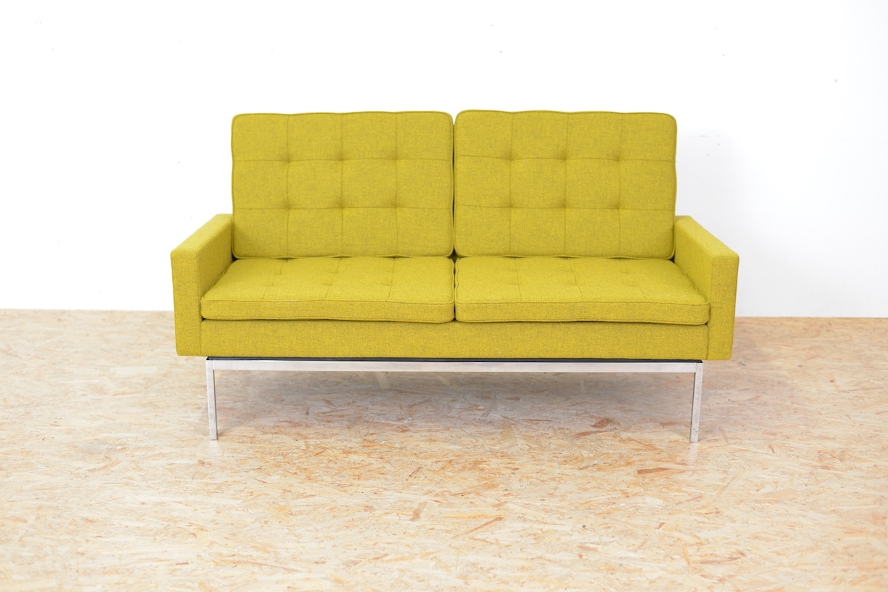 Newest Model 66A Fabric Sofaflorence Knoll Bassett, 1958 For Sale At In Florence Knoll Fabric Sofas (View 16 of 20)