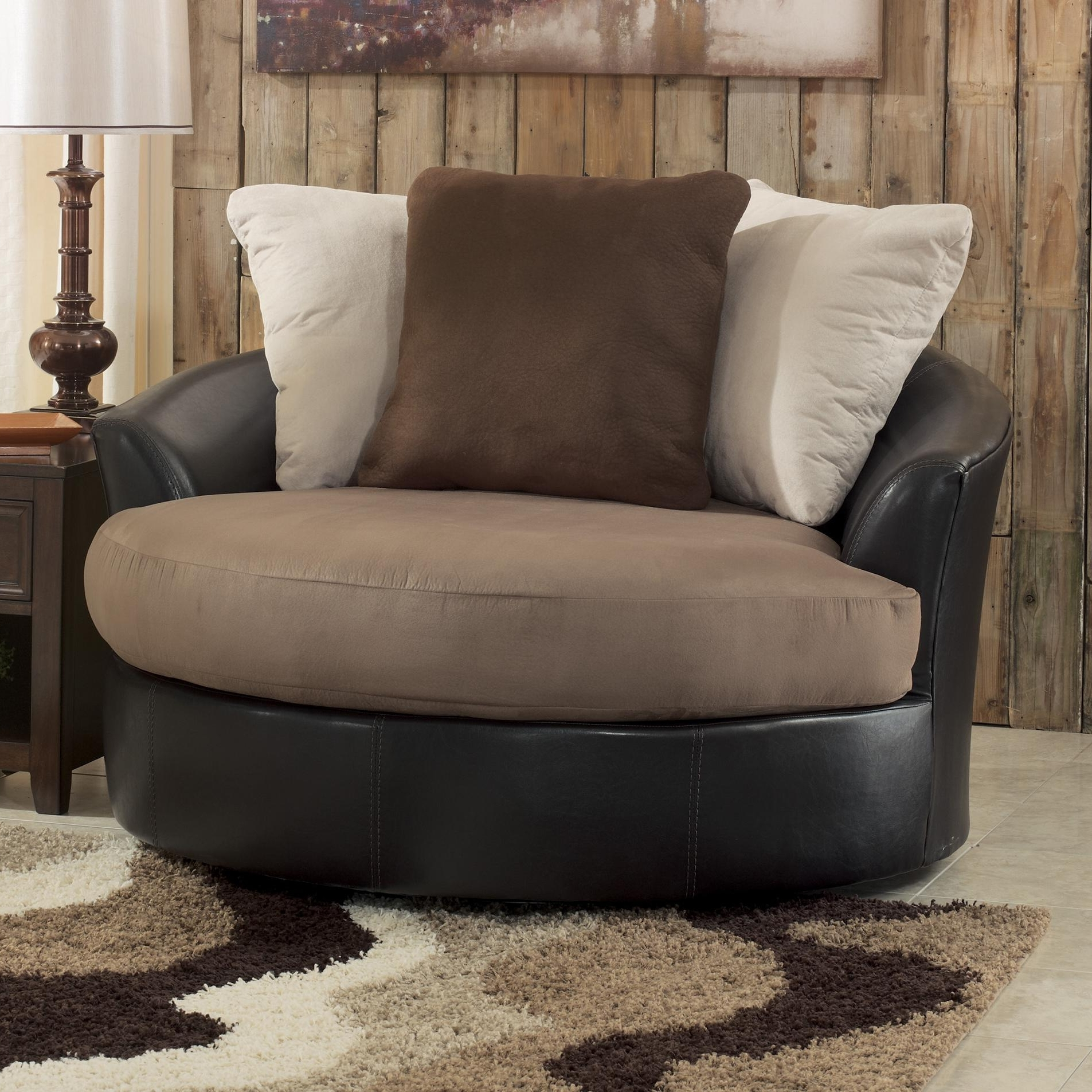Newest Oversized Sofa Chairs Inside Sofa : Excellent Round Sofa Chair Living Room Furniture Harveys (View 8 of 20)
