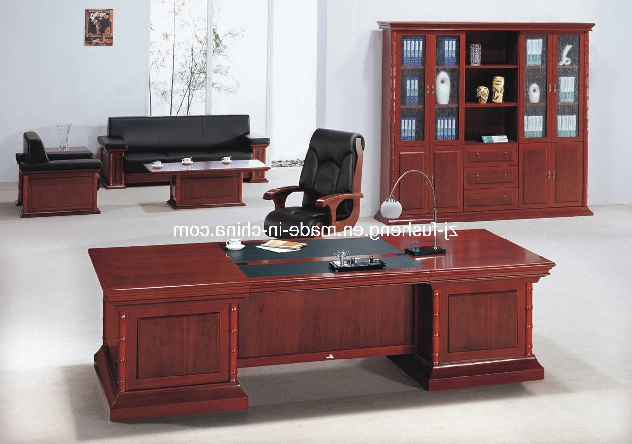 Newest Remarkable Design Office Furniture Tables Office Furniture Throughout Executive Office Table And Chairs (View 17 of 20)