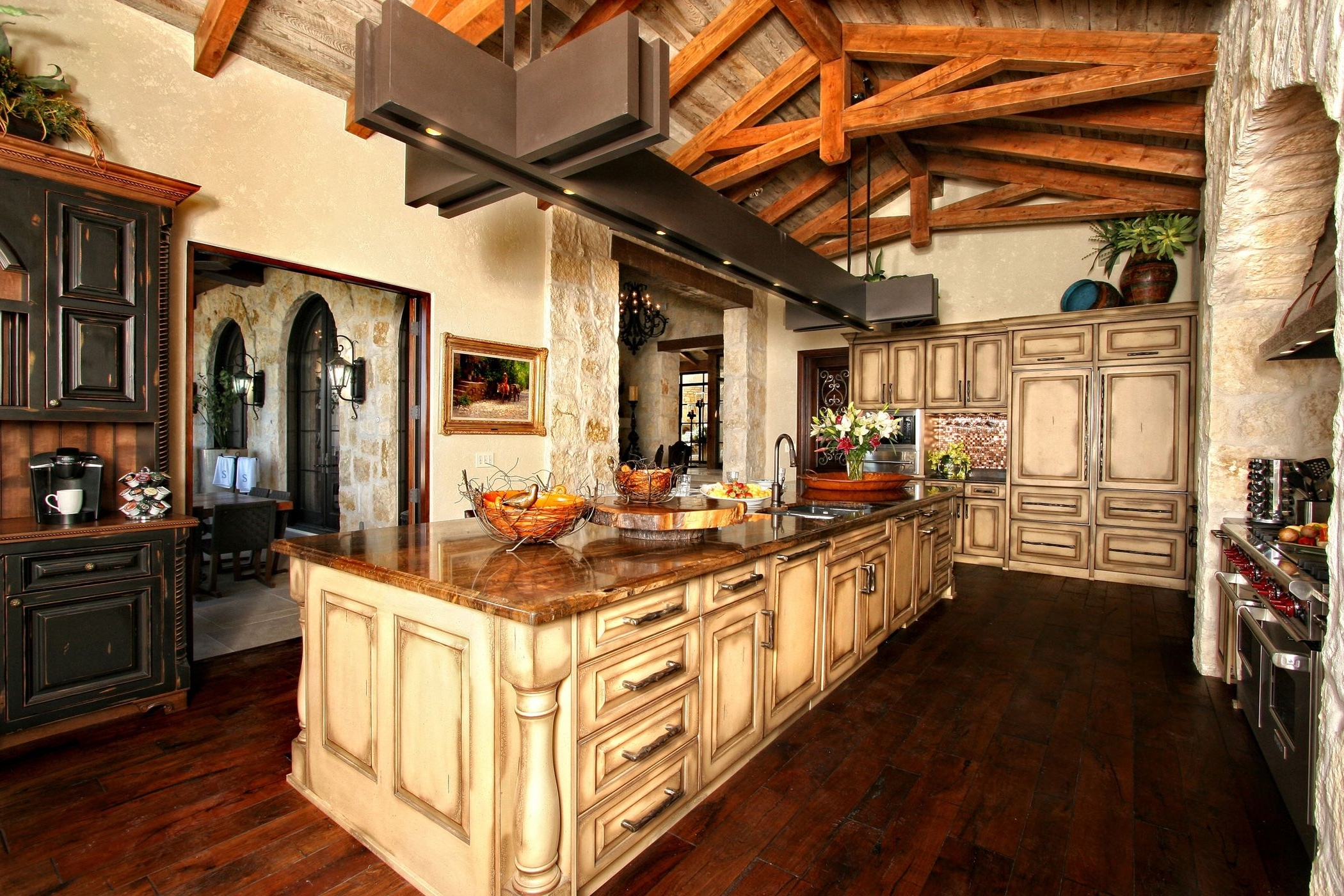 Newest Small Rustic Kitchen Chandeliers Pertaining To Simple White Kitchen Design Rustic Country Kitchen Lighting (View 13 of 20)