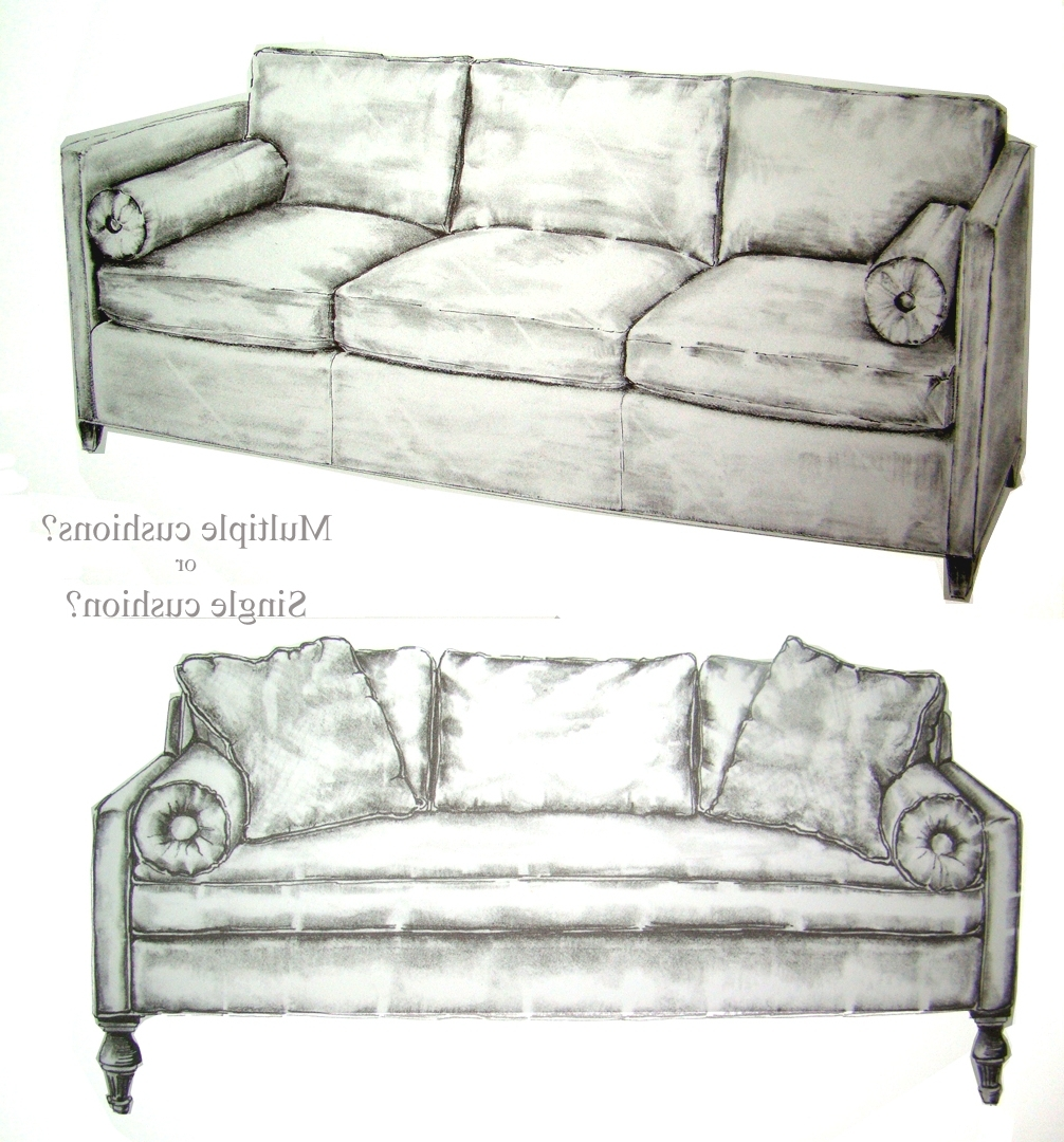 Newest Storibook Designs Open Studio: Rumpus Rules: Deciding Between One For One Cushion Sofas (View 19 of 20)