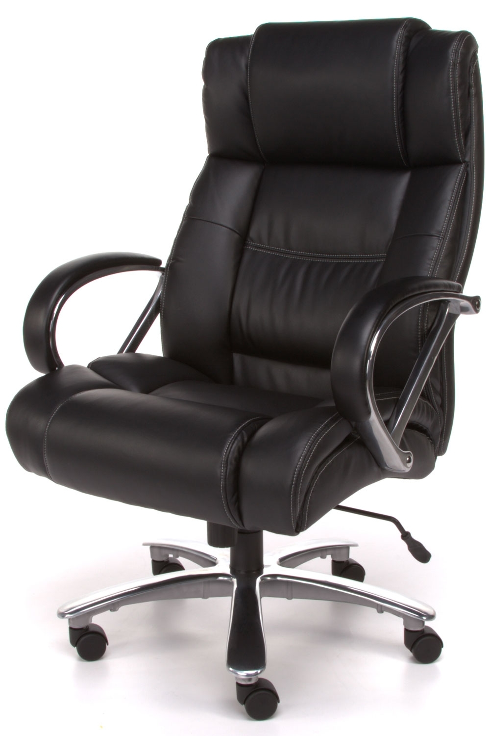 Newest Tall Executive Office Chairs Within 810 Lx Avenger Series Big And Tall Executive Office Chair In (View 13 of 20)