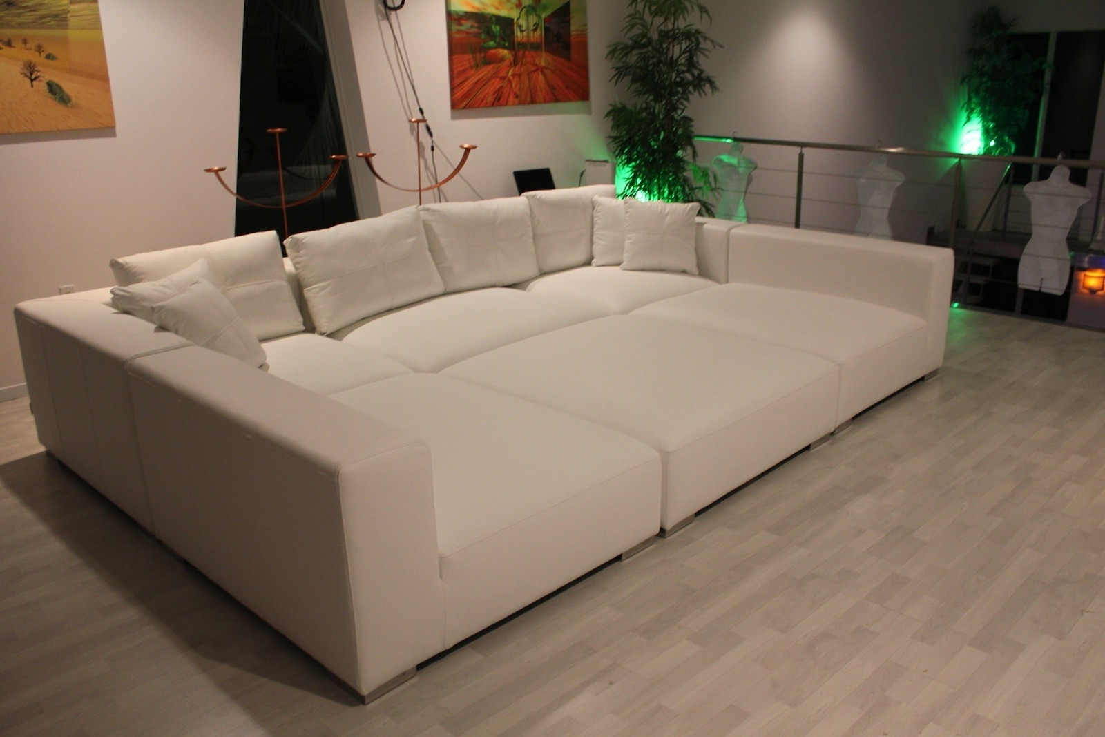 Newest Tapas In A Basement Media Room – Perfect For The Family To Chill Intended For Media Room Sectional Sofas (View 16 of 20)