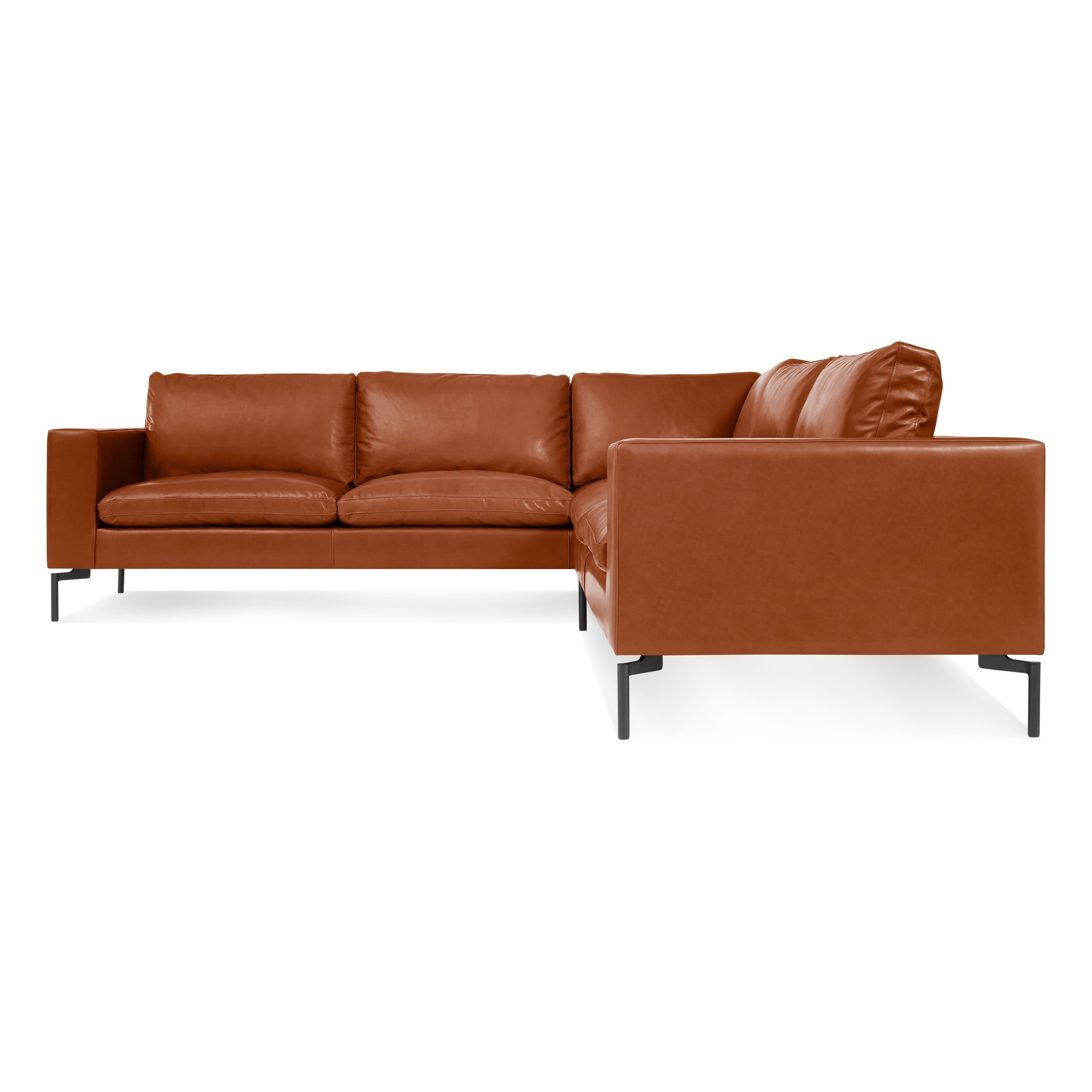 Newfoundland Sectional Sofas In Best And Newest New Standard Small Leather Sectional – Modern Leather Sofa (View 11 of 20)
