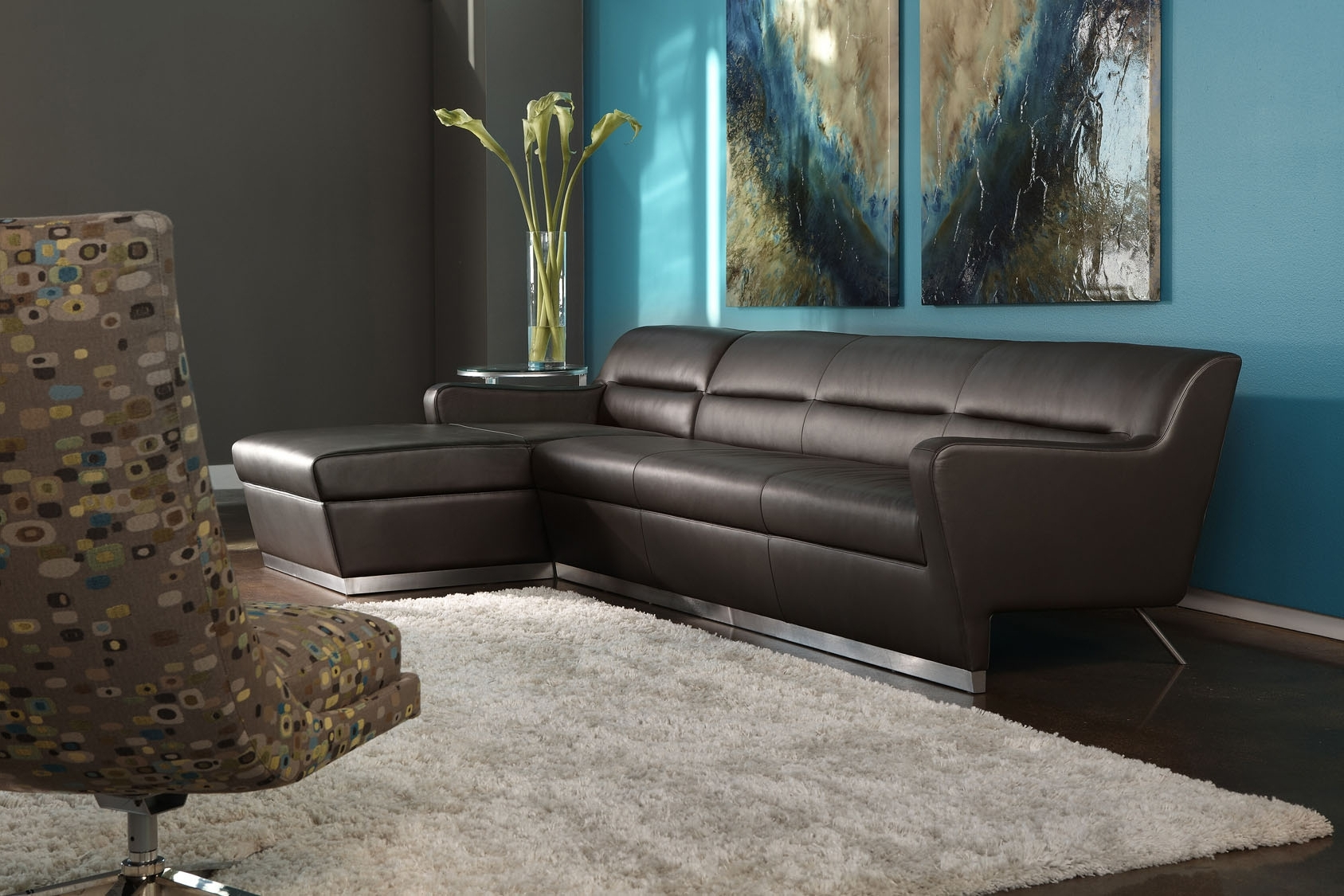 Niagara Sectional Sofas For Most Current American Leather Niagara Sectional Sofa (View 4 of 20)