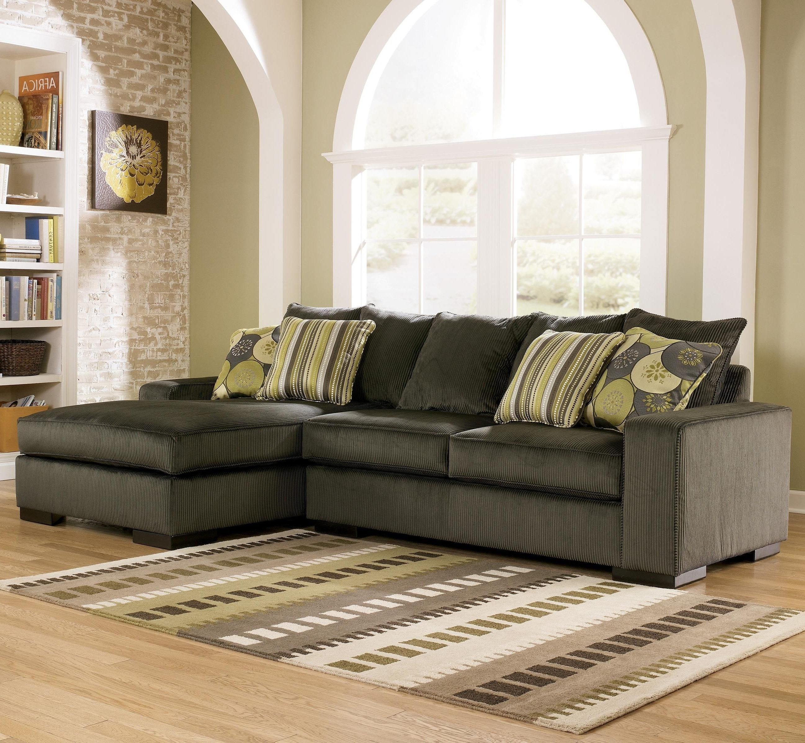 Niagara Sectional Sofas With Most Recent Freestyle – Pewter Two Piece Sectional Sofaashley Furniture (Gallery 19 of 20)