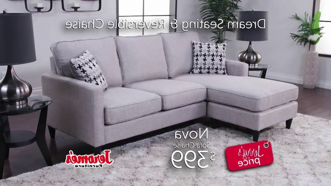 Nova Sectional – Youtube Within Jerome's Sectional Sofas (View 9 of 20)