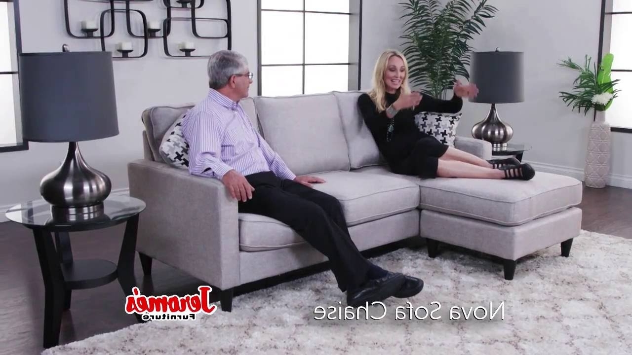 Nova Sectional – Youtube Within Jerome's Sectional Sofas (View 6 of 20)