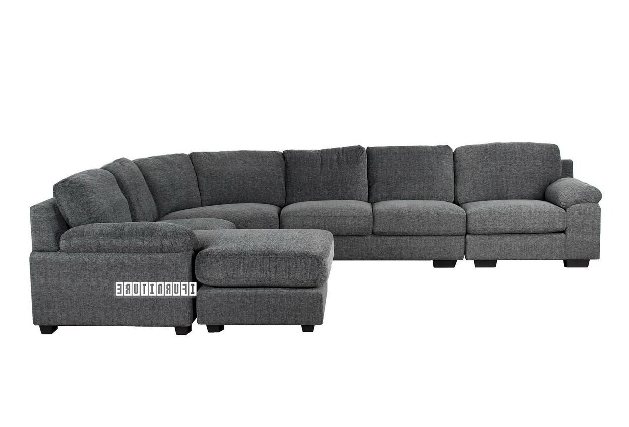 Nz Sectional Sofas Pertaining To Newest Bolton 6 Seater Reversible Sectional Sofa , Sofa & Ottoman, Nz's (View 18 of 20)