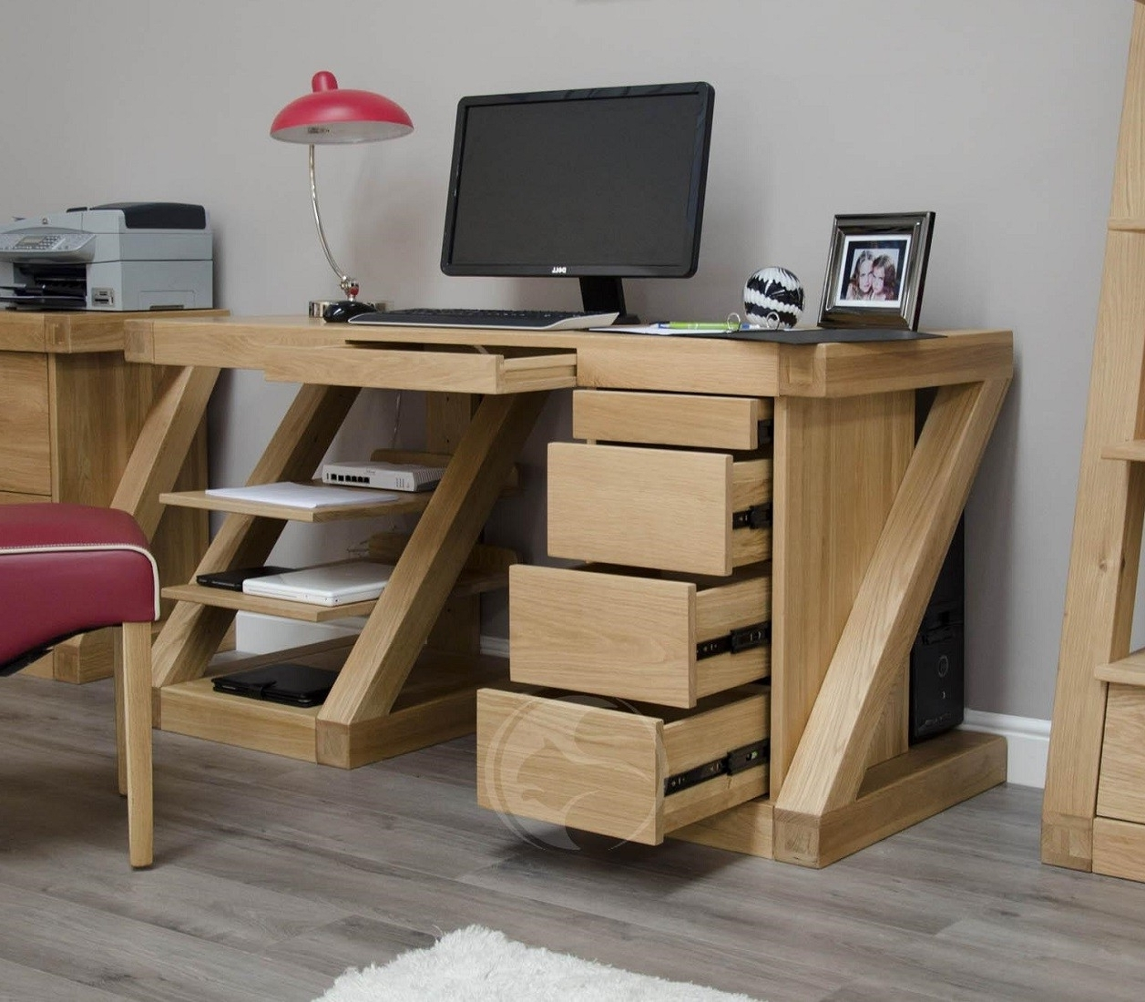 Oak Furniture Uk Throughout Large Computer Desks (View 17 of 20)