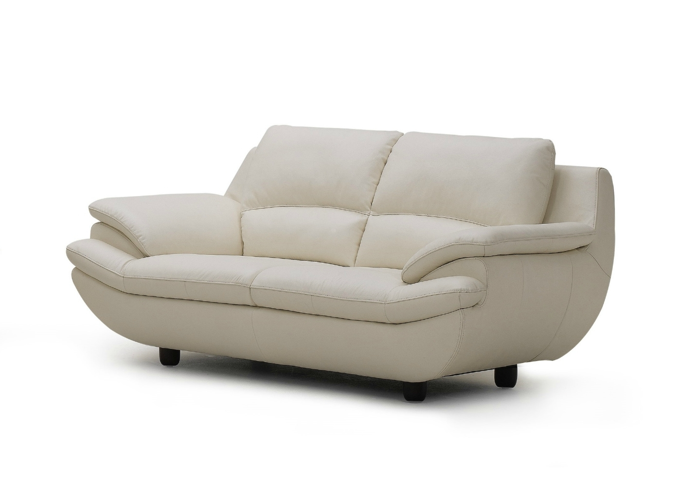 Off White Leather Sofas Pertaining To Newest Plush Leather Sofa In Off White – Not Just Brown (View 9 of 20)