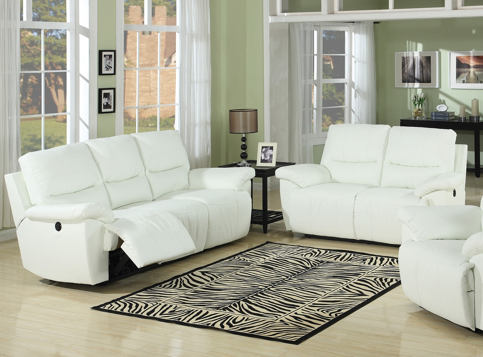 Off White Leather Sofas Throughout Best And Newest White Leather Sofa Sets – Home Design Ideas And Pictures (View 15 of 20)