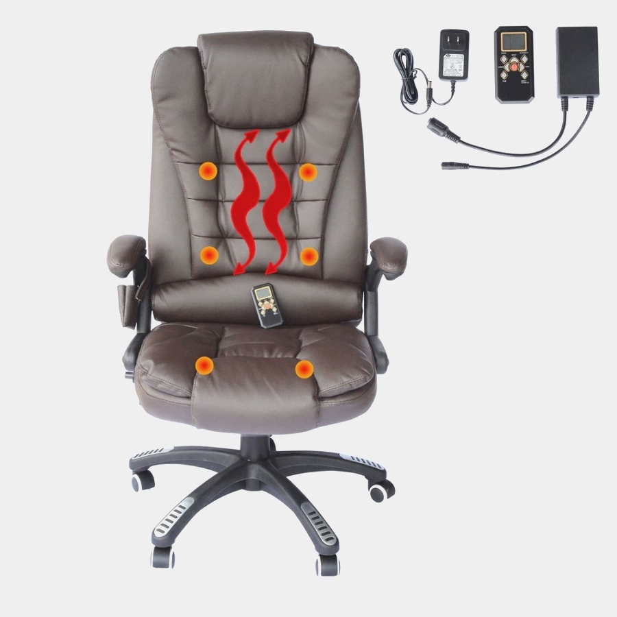 Office Chairs & Massage Chairs With Regard To Most Up To Date Executive Office Chairs With Shiatsu Massager (View 20 of 20)