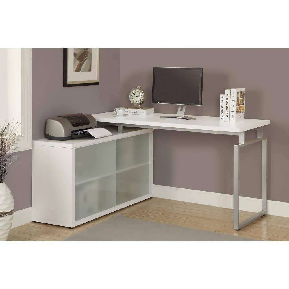 Office Desk : White Office Desk Home Office Desks Uk Corner Desk Within Newest Vintage Computer Desks (View 18 of 20)