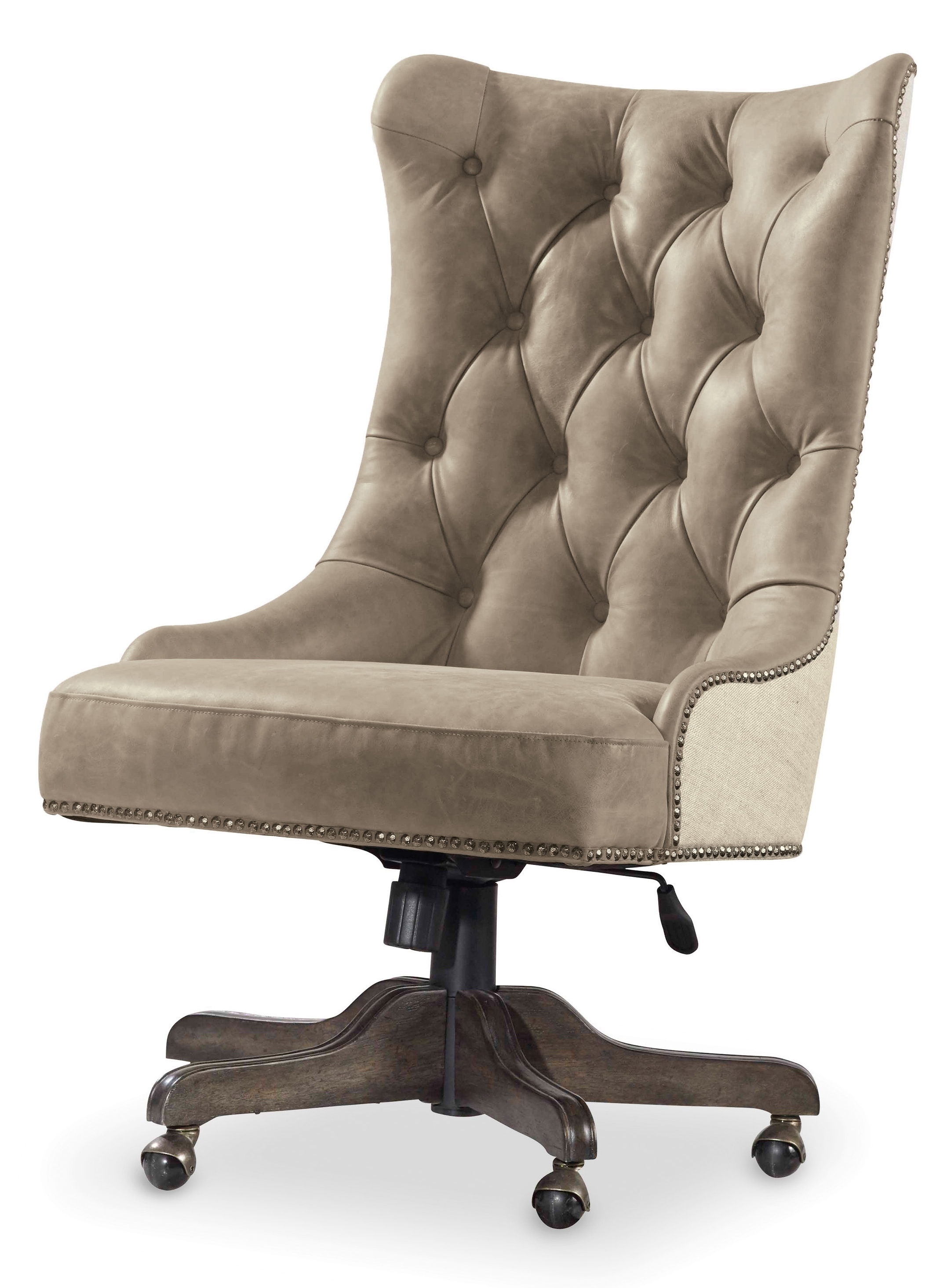 Office : Hooker Furniture Vintage West Executive Desk Chair With For Most Popular Executive Office Swivel Chairs (View 14 of 20)