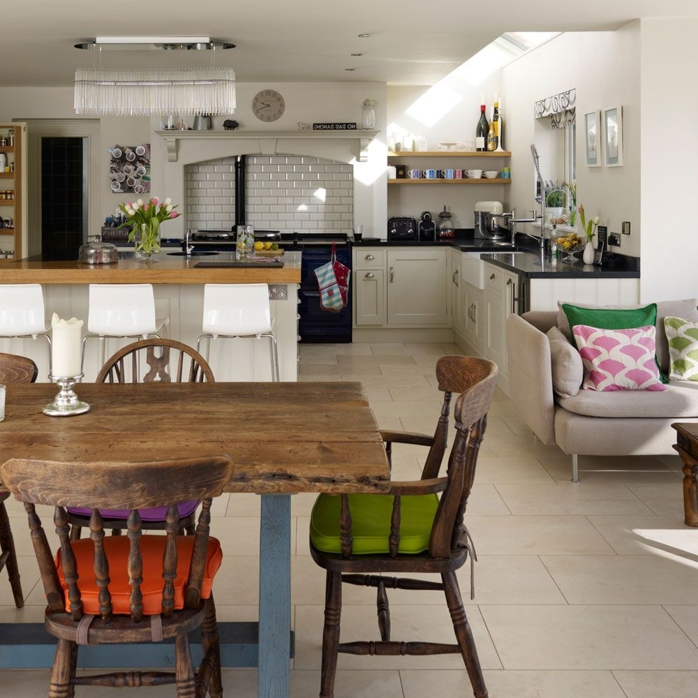 Open Plan Kitchen Diner, Open Plan Pertaining To Sofas For Kitchen Diner (View 10 of 20)