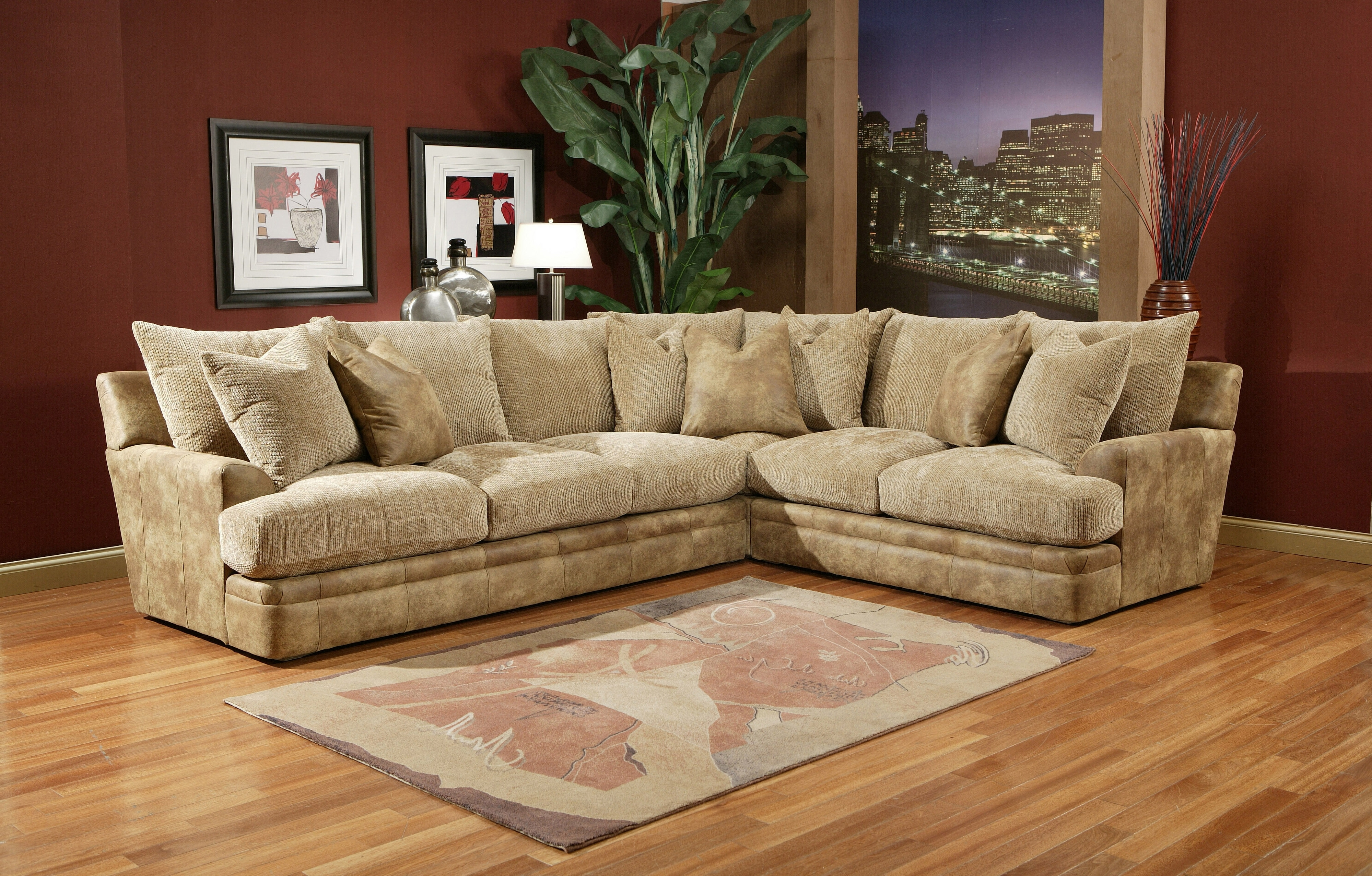 Orange County Ca Sectional Sofas With Regard To Most Recent Down Filled Sectional Sofa – Cleanupflorida (View 9 of 20)
