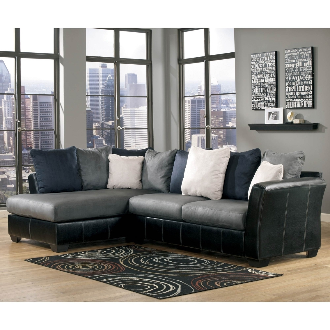 Ottawa Sectional Sofas Throughout Recent Ashley Sectional Sofa With Chaise – Hotelsbacau (View 11 of 20)