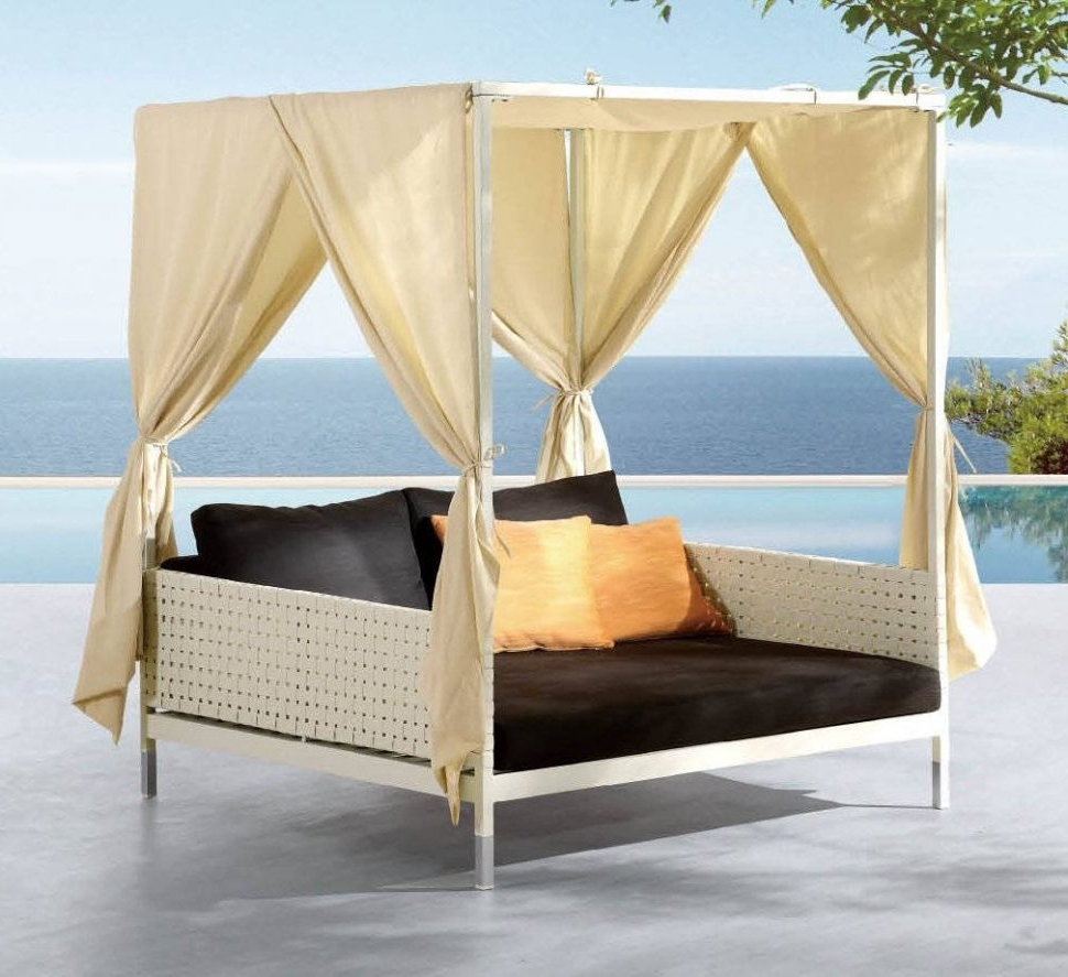 Outdoor : Canopy Daybed Bedding Outdoor Sofa Canopy Outdoor Daybed In Most Up To Date Outdoor Sofas With Canopy (View 12 of 20)