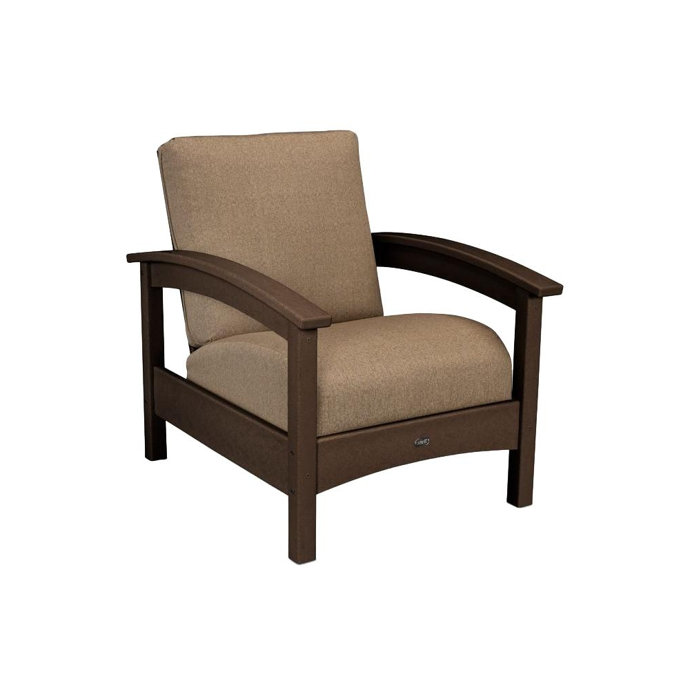 Outdoor Sofa Chairs Regarding 2018 Trex Outdoor Furniture Rockport Vintage Lantern All Weather (View 12 of 20)