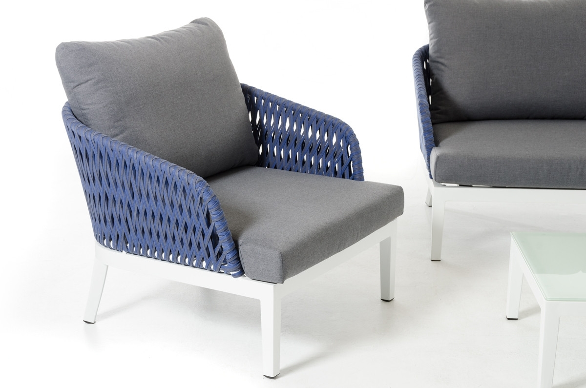 Outdoor Sofa Chairs With Regard To Well Known Renava Buenos Modern Outdoor Sofa Set (View 14 of 20)