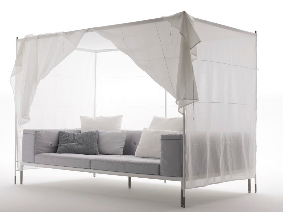 Outdoor Sofa With Canopy And Inside Well Known Outdoor Sofas With Canopy (View 9 of 20)