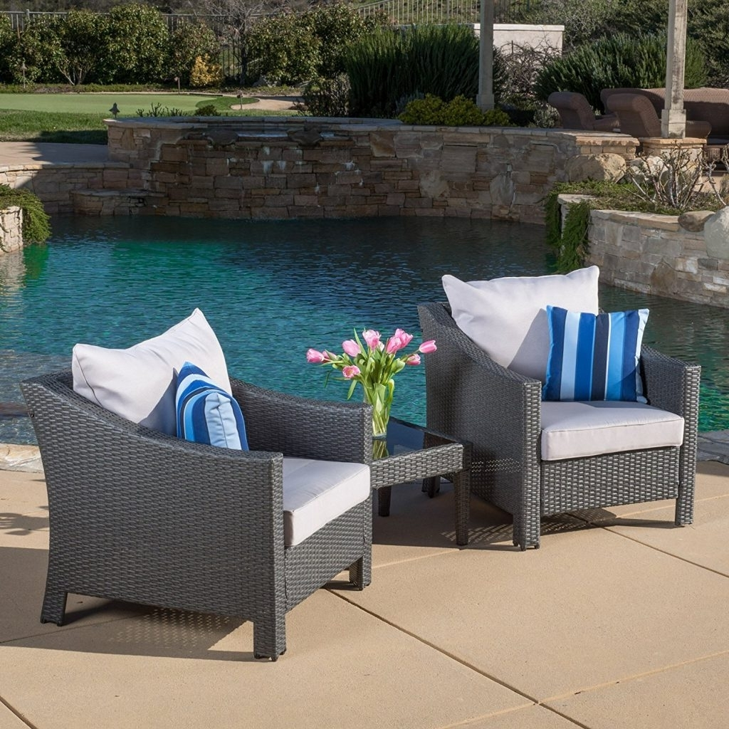Outdoor Sofas And Chairs Throughout Well Known Enjoy Your Summer With Outdoor Wicker Furniture (50 Idea Photos) (View 12 of 20)