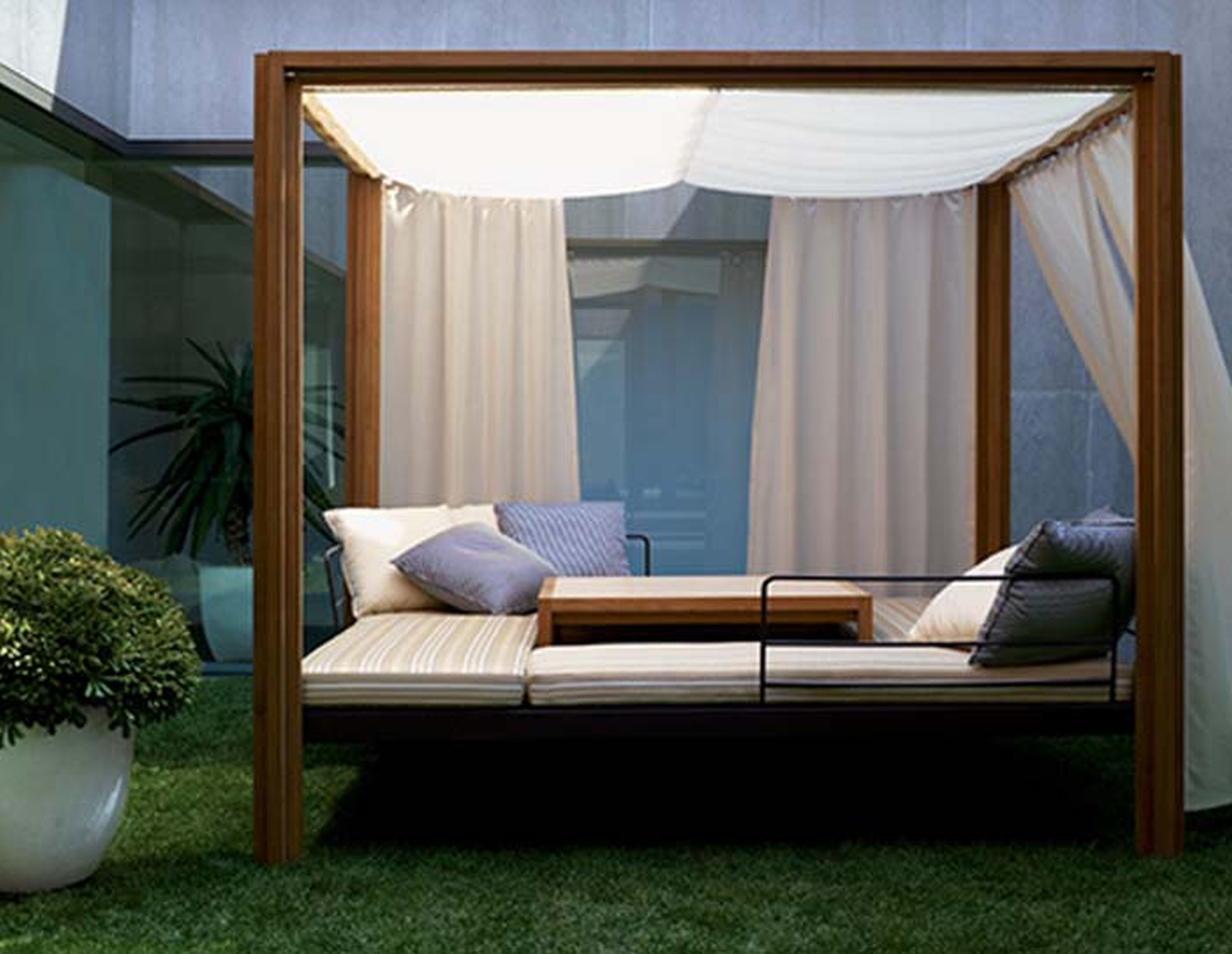 Outdoor Sofas With Canopy Throughout Favorite Best Diy Modern Patio Furniture Photos – Liltigertoo (View 13 of 20)
