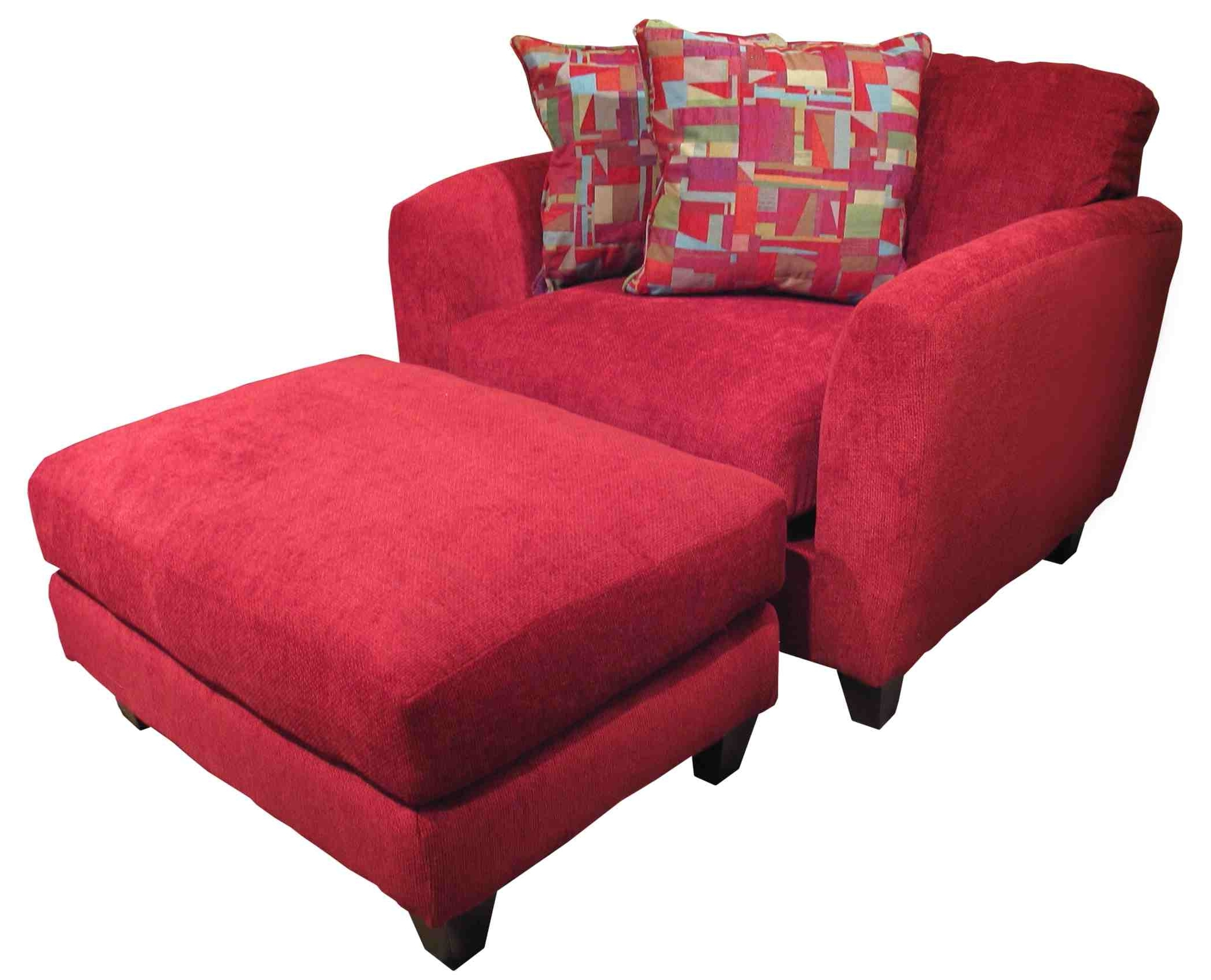 Overstuffed Chairs Ottoman — Modern Home Interiors : How To Intended For Preferred Chairs With Ottoman (View 19 of 20)
