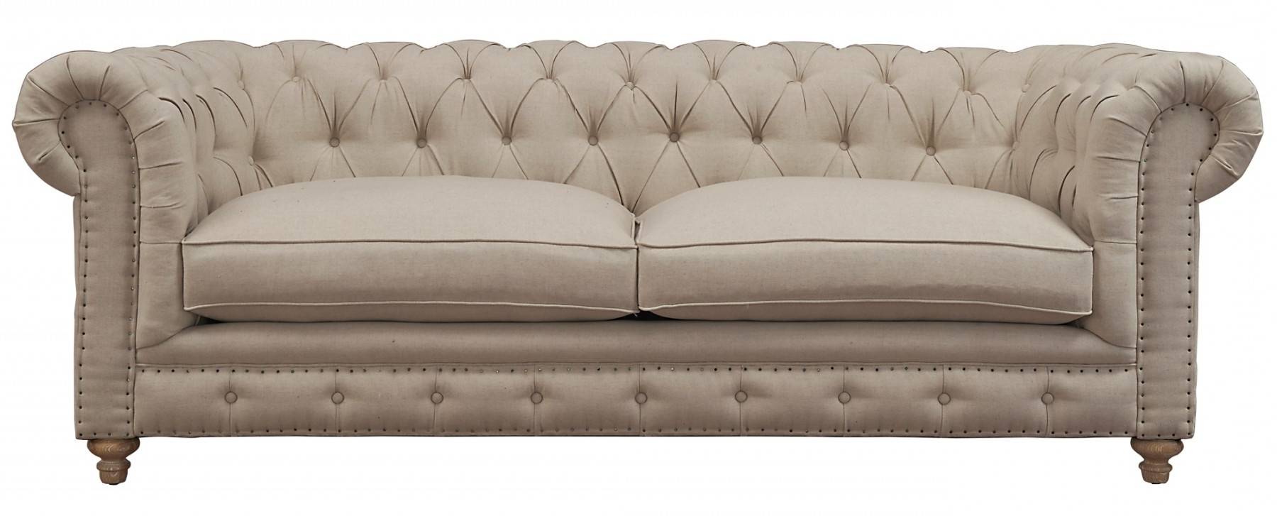 Oxford Sofas With 2018 Oxford Beige Linen Sofatov Furniture Buy Online At Best Price (View 4 of 20)