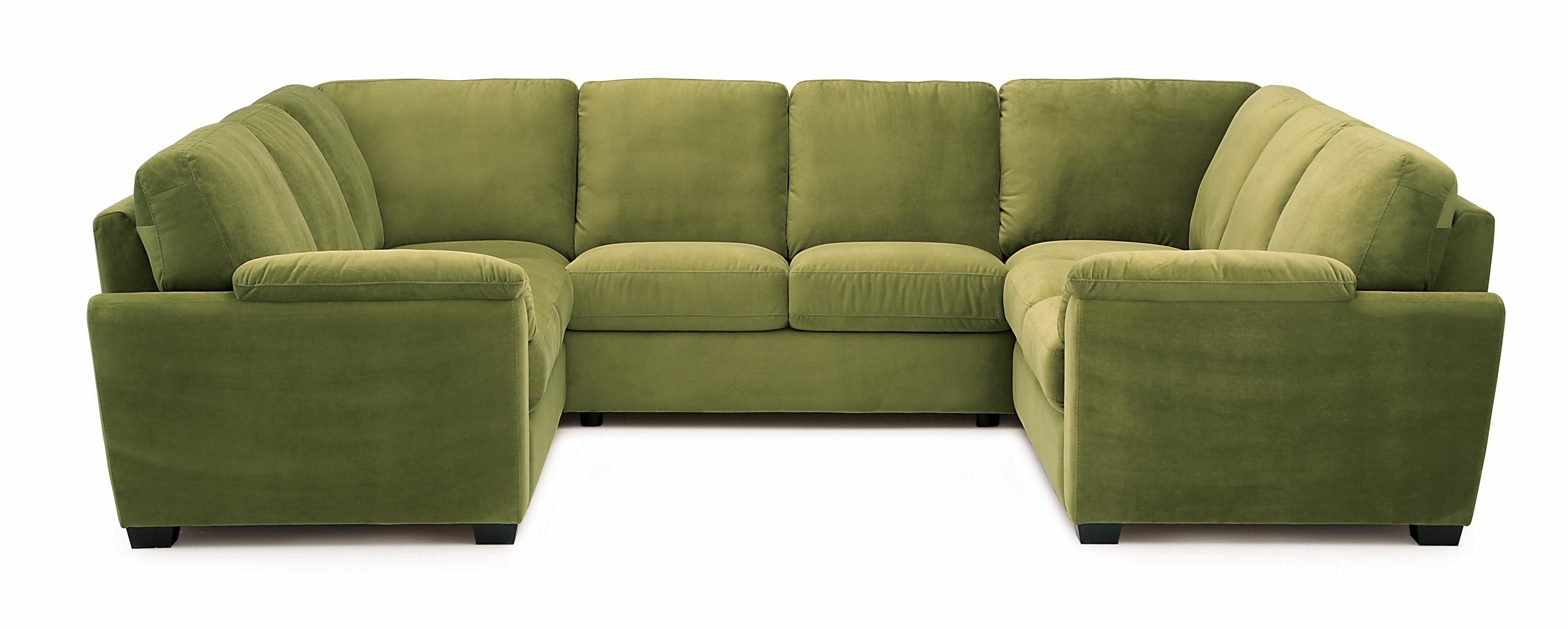 Palliser Lanza Casual Square Sectional Sofa – Ahfa – Sofa Regarding Well Known Green Sectional Sofas (View 19 of 20)