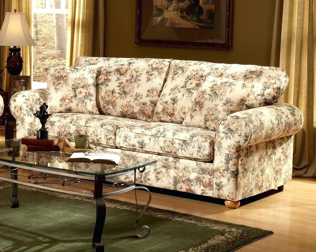 Part 4 › With Regard To Current Floral Sofas And Chairs (View 14 of 20)