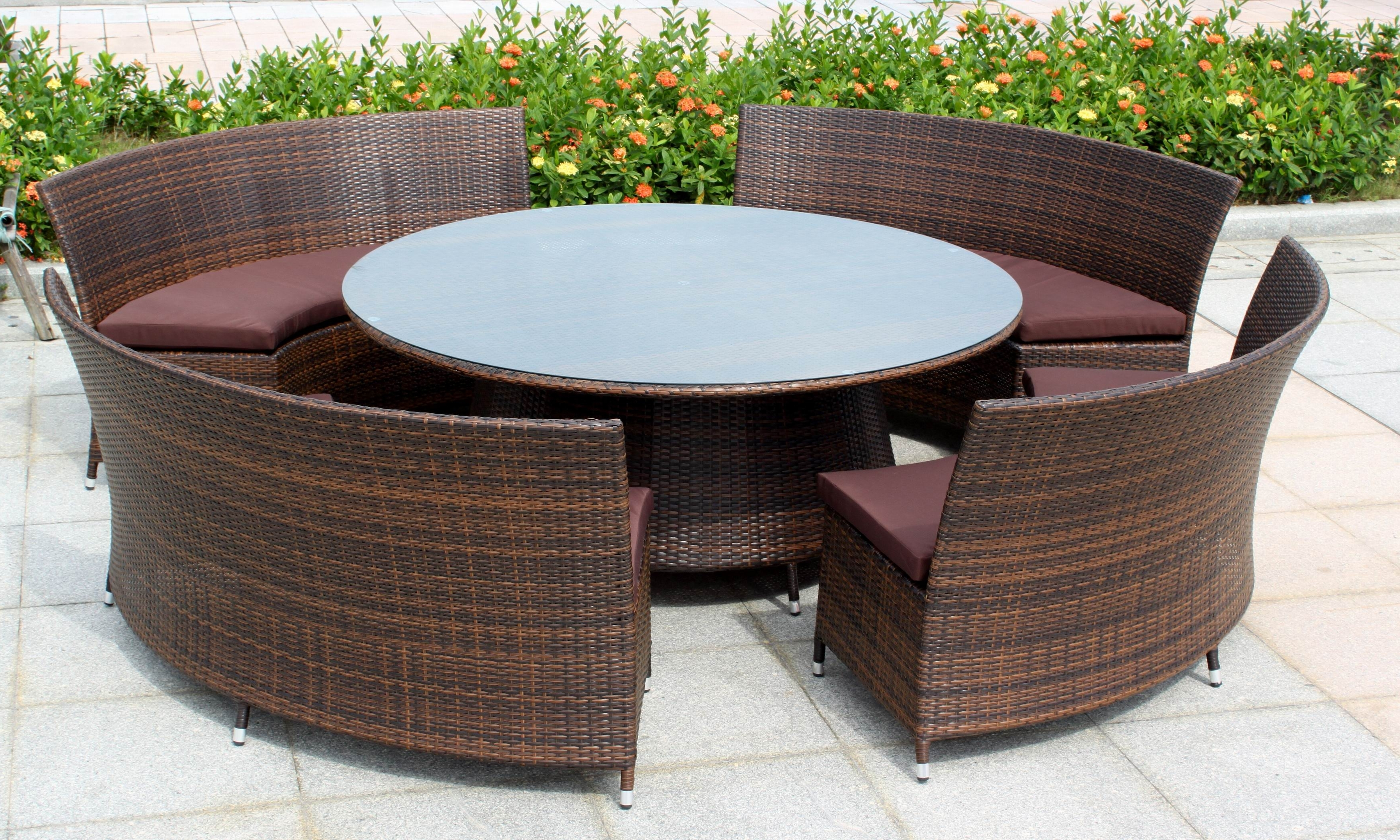 Patio & Garden : Modern Outdoor Furniture Outdoor Furniture Little Pertaining To Fashionable Outdoor Sofas And Chairs (View 16 of 20)