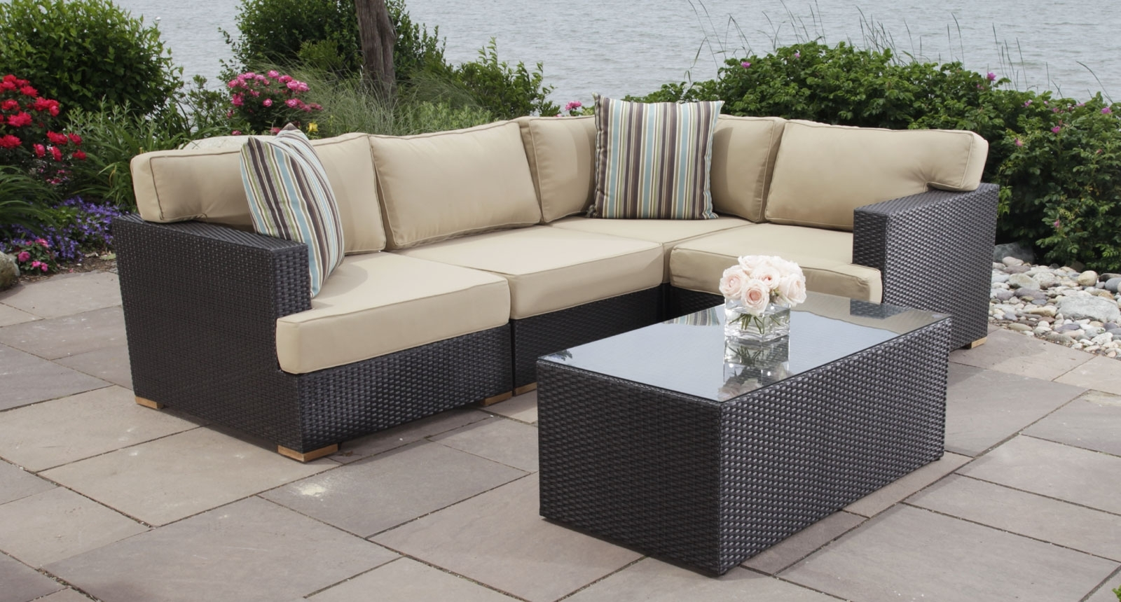 Patio Sofas Inside 2019 Outdoor Sectional Cover Amazon Waterproof Patio Furniture Covers (View 19 of 20)