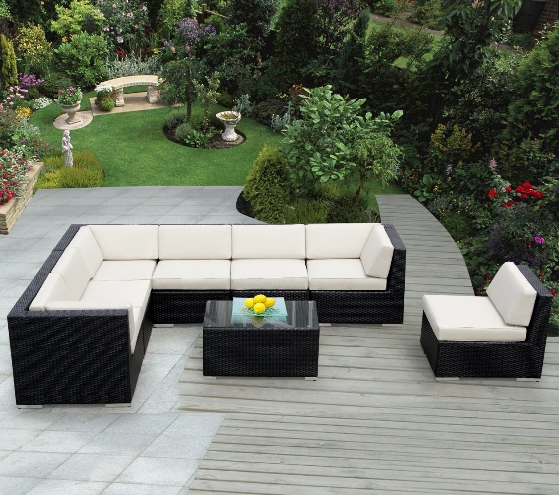 Patio Sofas With Well Liked Furniture Ideas: Mexican Patio Furniture With Wooden Pattern Deck (View 14 of 20)