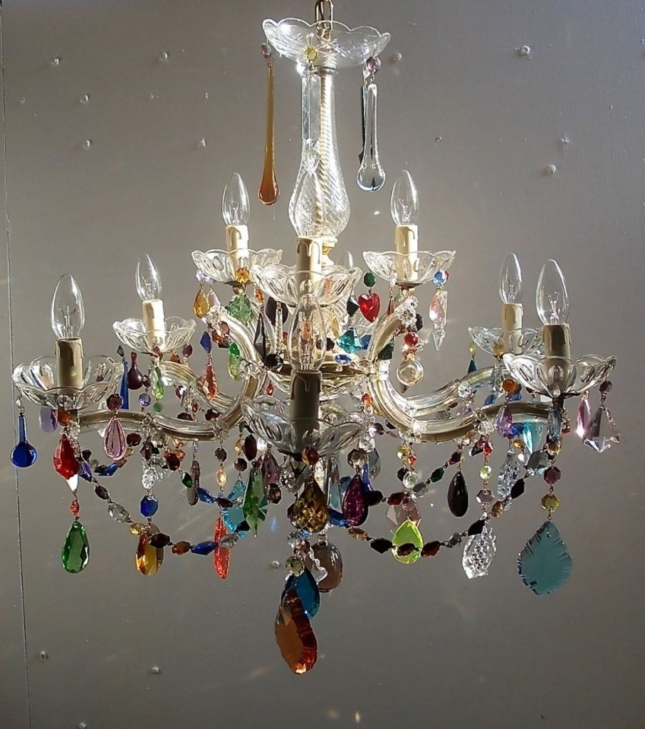 Pendant Lights ~ Chandelier : Chandeliers Coral Colored Chandelier In Well Liked Small Gypsy Chandeliers (View 4 of 20)