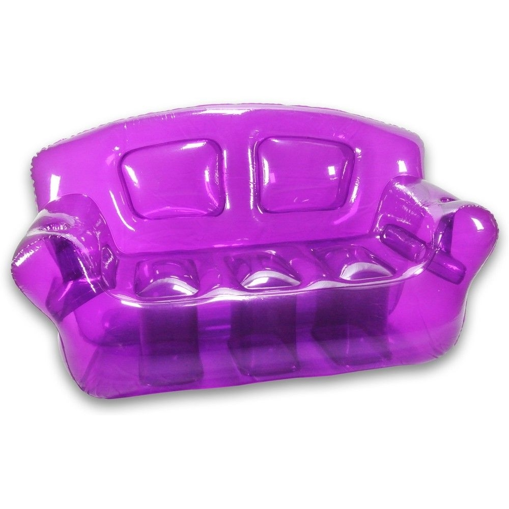 Perfect Purple Inflatable Bubble Couch (View 7 of 20)