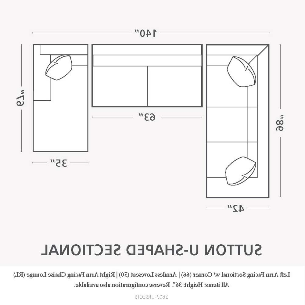 Perfect Sectional Sofa Dimensions #536 Pertaining To Recent Sectional Sofas By Size (View 7 of 20)
