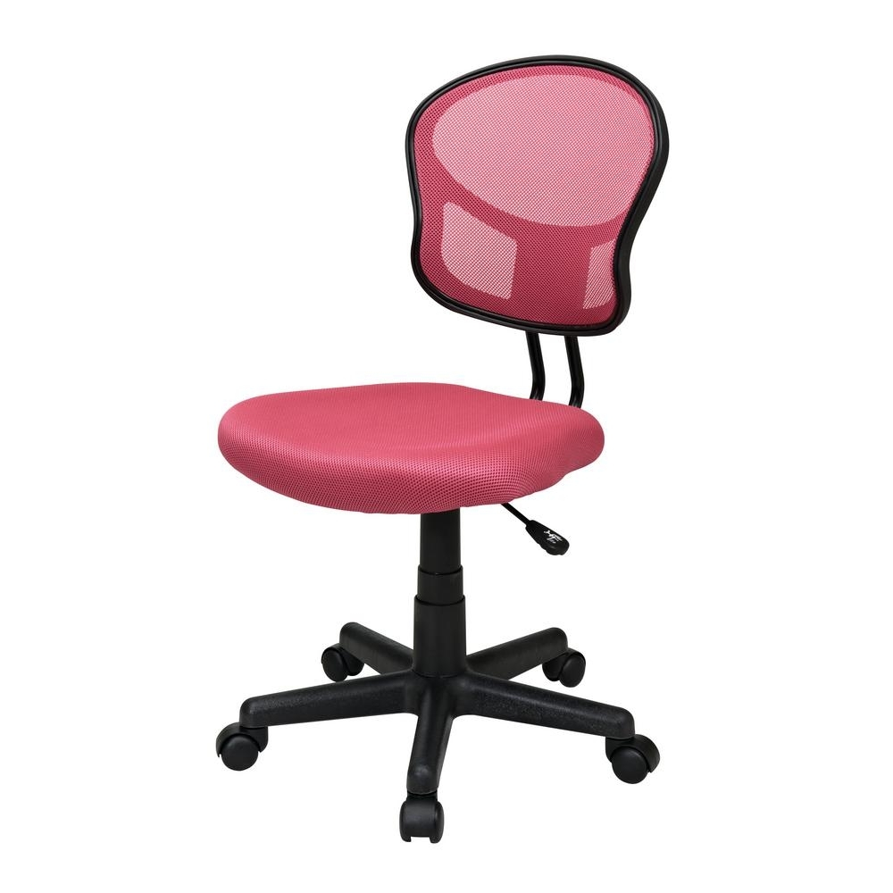 Pink Executive Office Chair Chairs Interiors In Pertaining To Trendy Pink Executive Office Chairs (View 6 of 20)