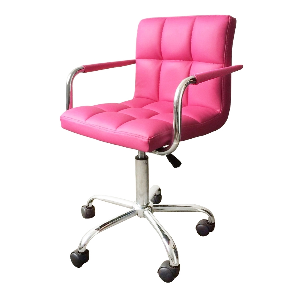 Pink Executive Office Chairs With Regard To Famous Pink Executive Office Chair Chairs Interiors In (View 11 of 20)