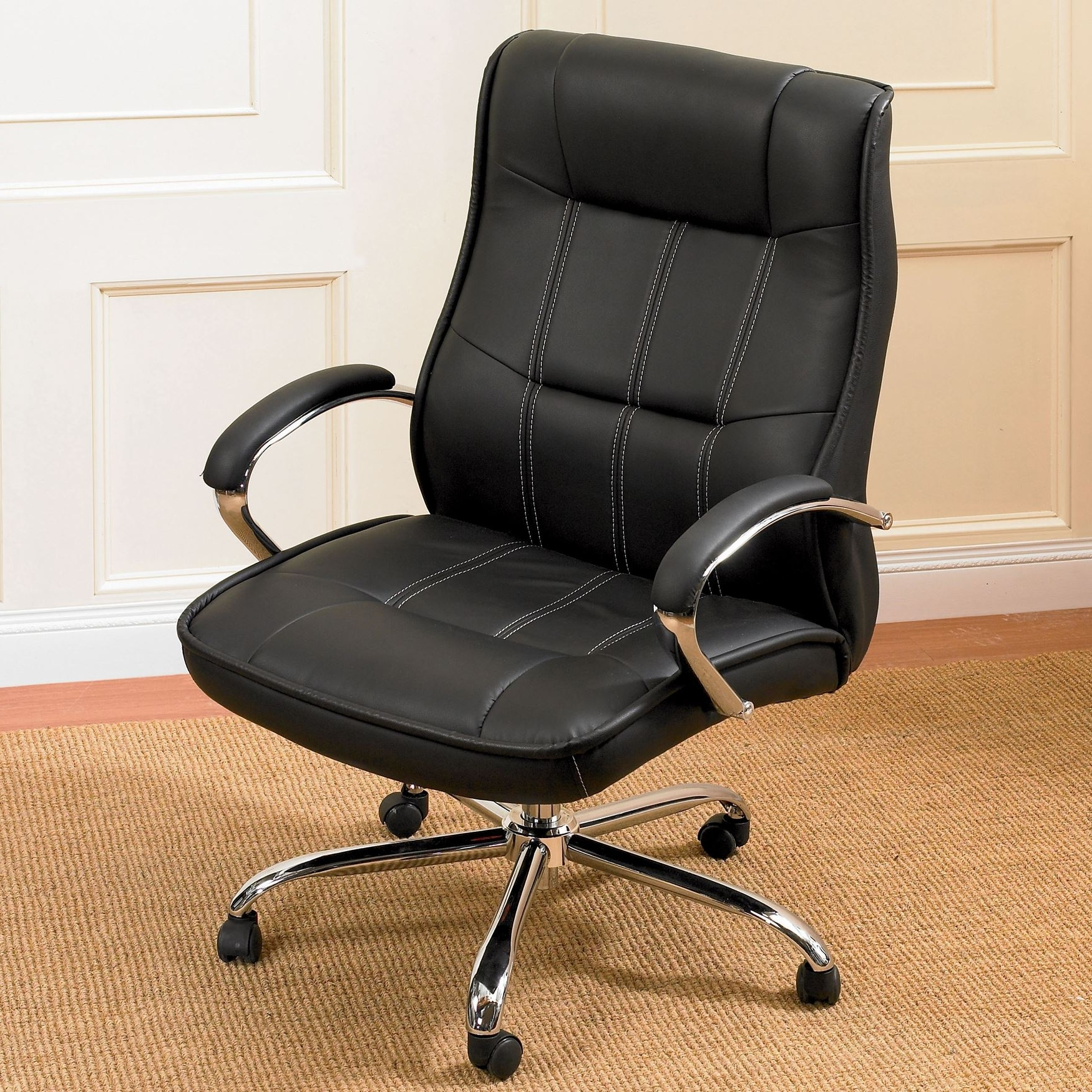 Plus Size Extra Large Office Chairs Brylane Home – Tritoo With Regard To Latest Oversized Executive Office Chairs (View 18 of 20)