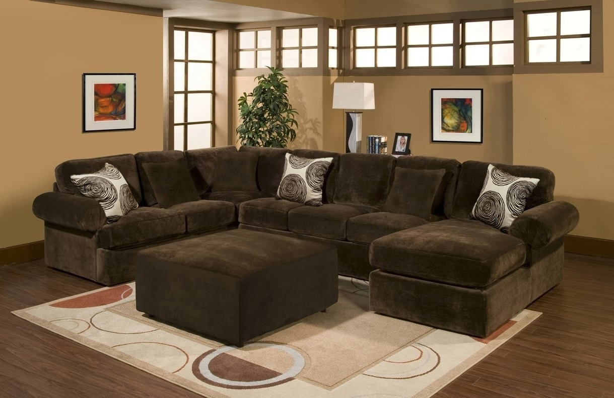 Plush Sectional Sofas Within Well Known Comfort Industries 3 Pc Bradley Sectional Sofa (View 14 of 20)