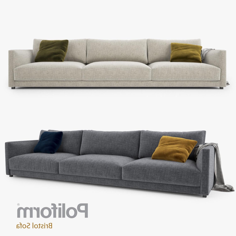Poliform Bristol Three Seater Sofa 3D Model (View 14 of 20)