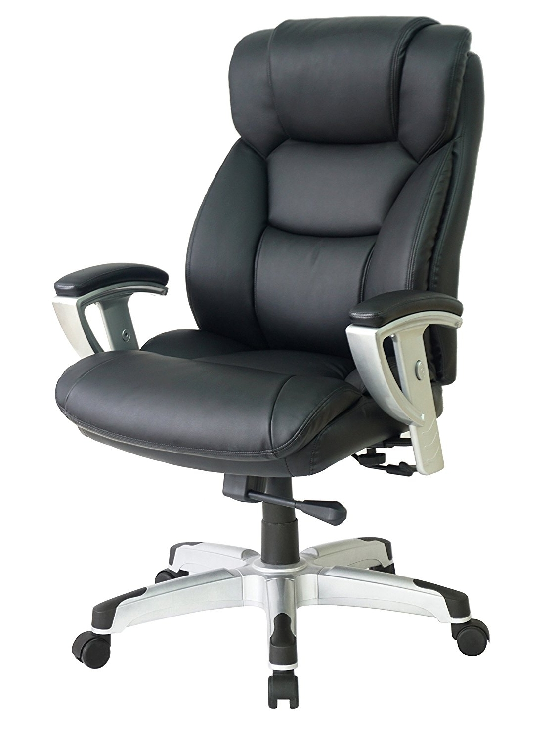 Popular 10 Big & Tall Office Chairs For Extra Large Comfort With Regard To Big And Tall Executive Office Chairs (View 11 of 20)