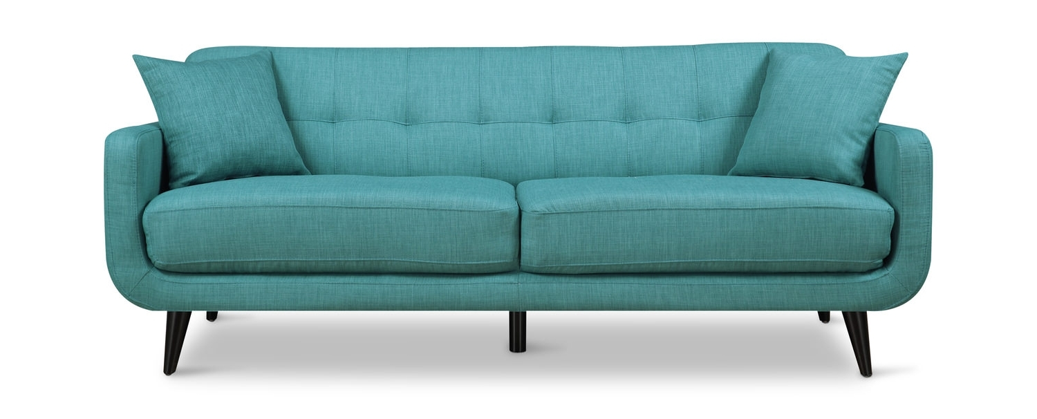 Popular Aqua Sofas With Hadley Sofa (View 17 of 20)