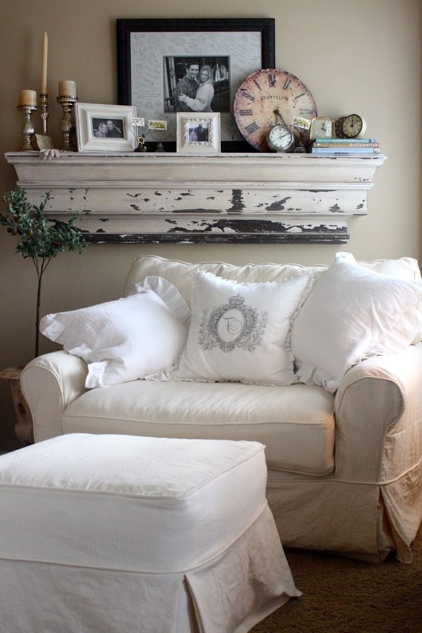 Popular Armchair : Gray Leather Sectional Chairs With Ottoman Pockets And For Large Sofa Chairs (View 16 of 20)