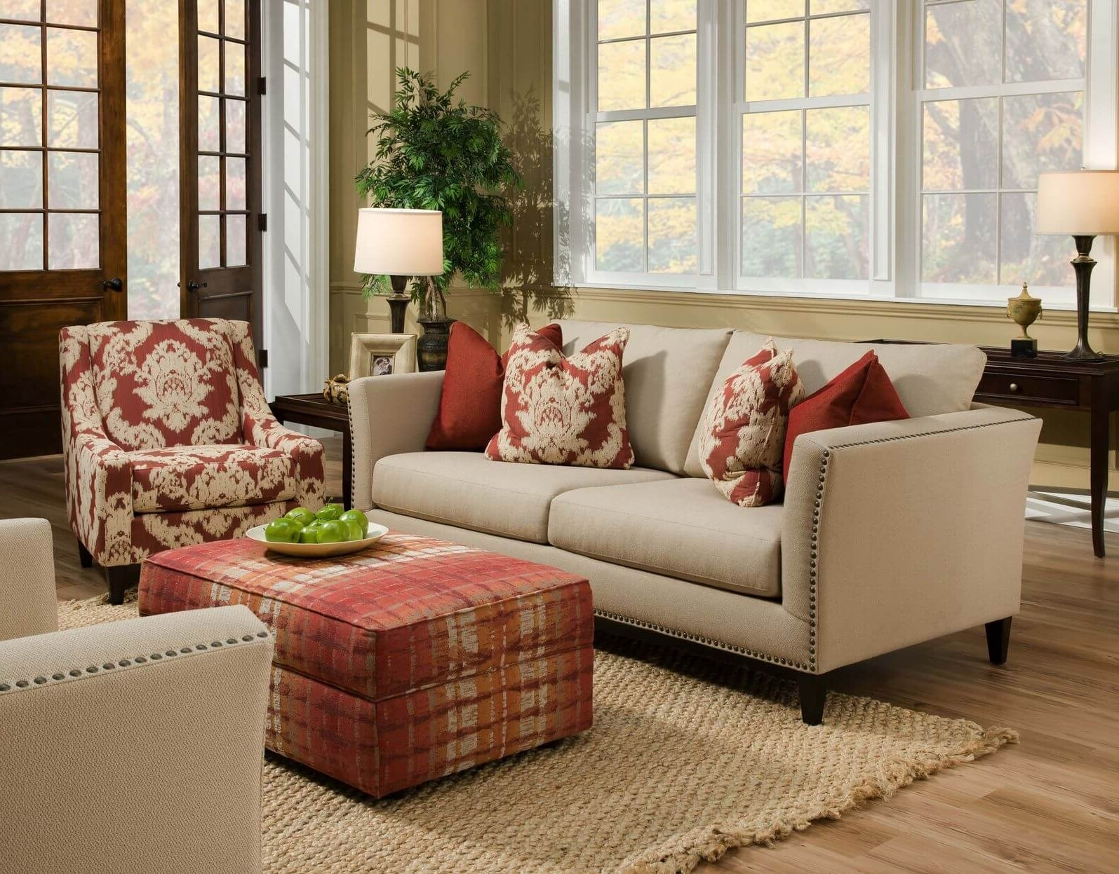 Popular Beige Sofa Decor Ideas — Radionigerialagos Pertaining To Colorful Sofas And Chairs (View 13 of 20)